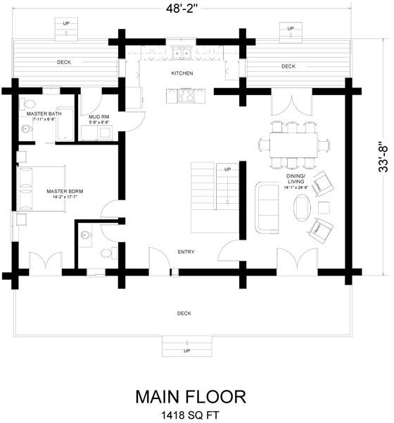 columbia_log_home_floor_plan