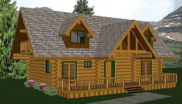 columbia_log_home_rendering