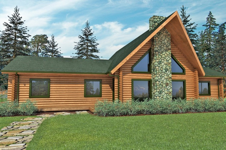 deschutes_log_home_rendering