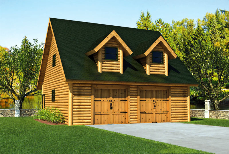 Garages Duncanwoods Log Amp Timber Homes