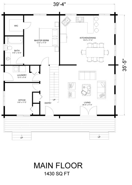 kelowna_log_home_floor_plan
