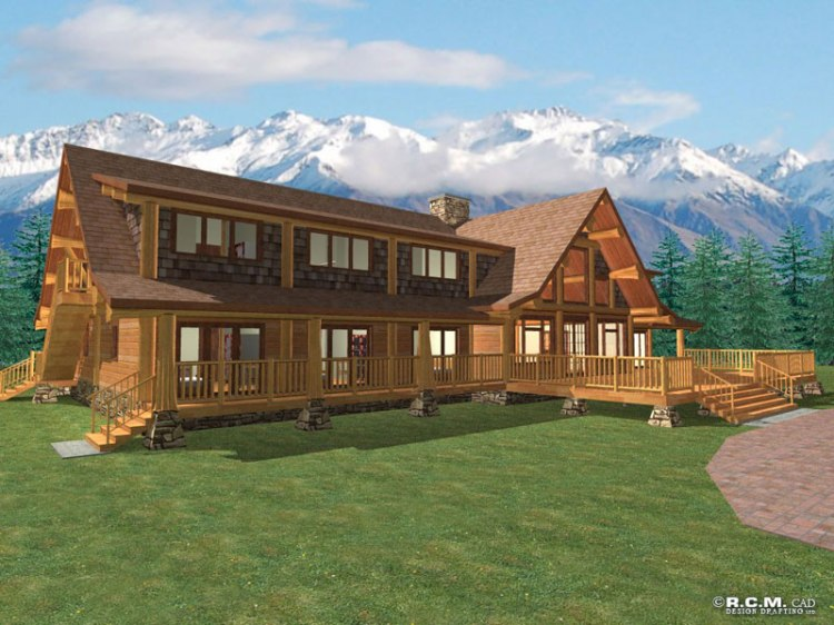 klondlike_log_home_rendering
