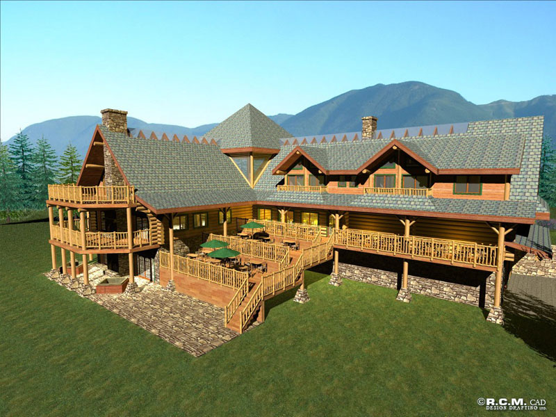 kookenusa_log_lodge_rendering