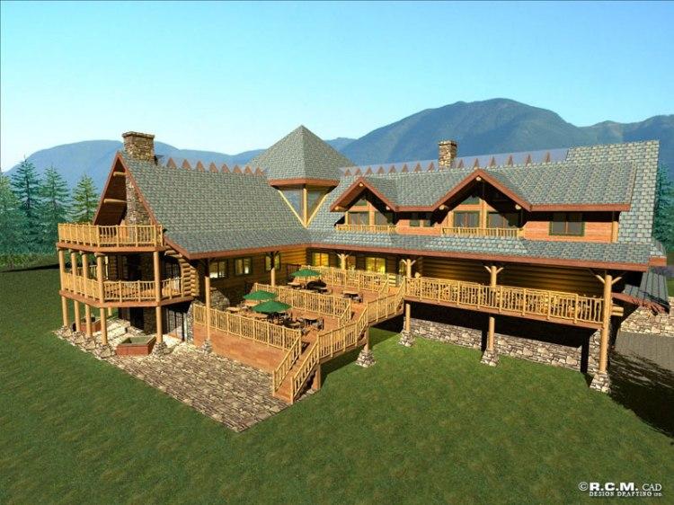 kookenusa log lodge floor plan duncanwoods log amp timber rustic log cabin home plans log lodges floor plans friv