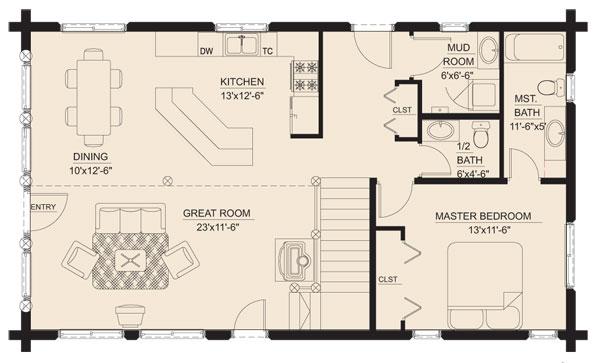meadow_view_log_home_floor_plan