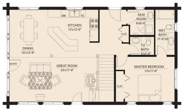 meadow_view_log_home_floor_plan