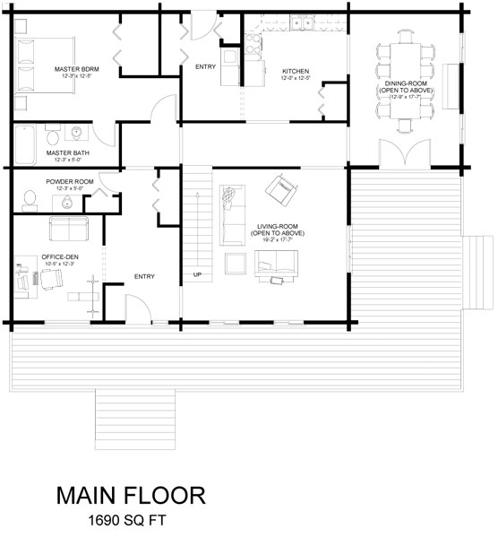 revelstoke_log_home_floor_plan