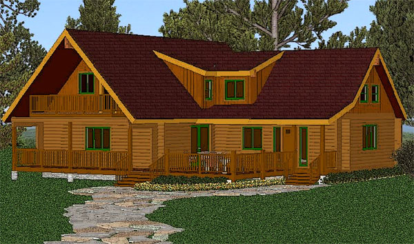 shuswap_log_home_rendering