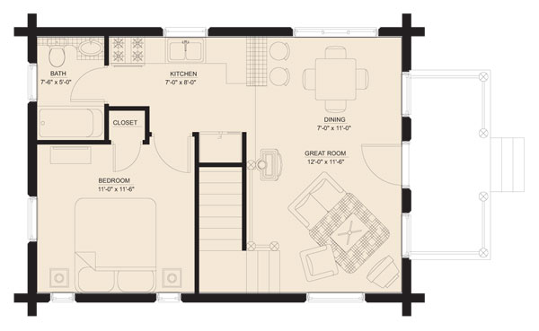 sportsman_log_home_floor_plan