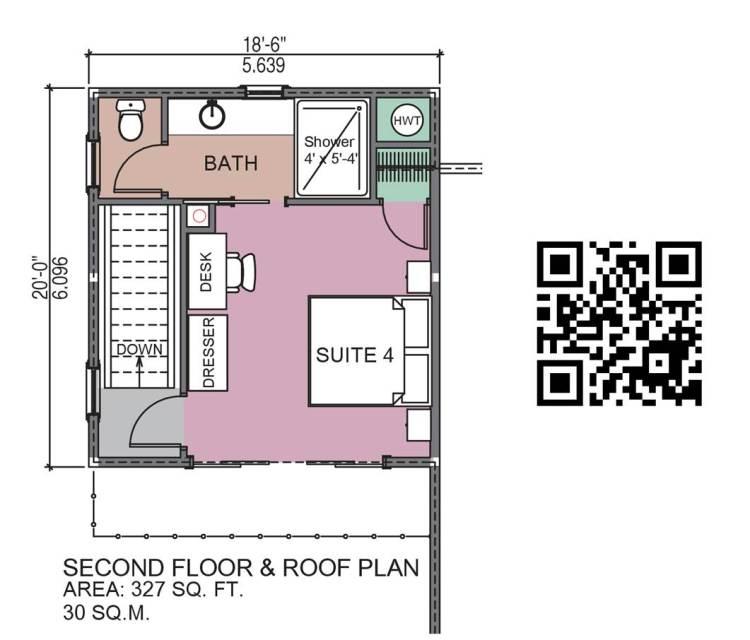 Mt. Lome Log Home Floor Plan