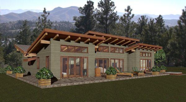 Peel River Log Home