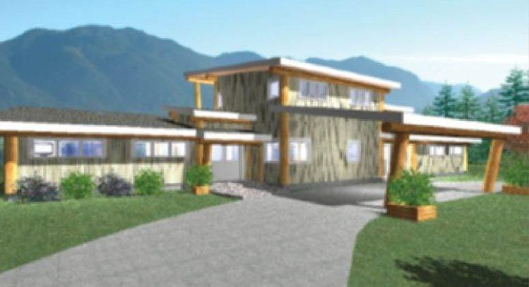 Watson Lake Log Home Floor Plan