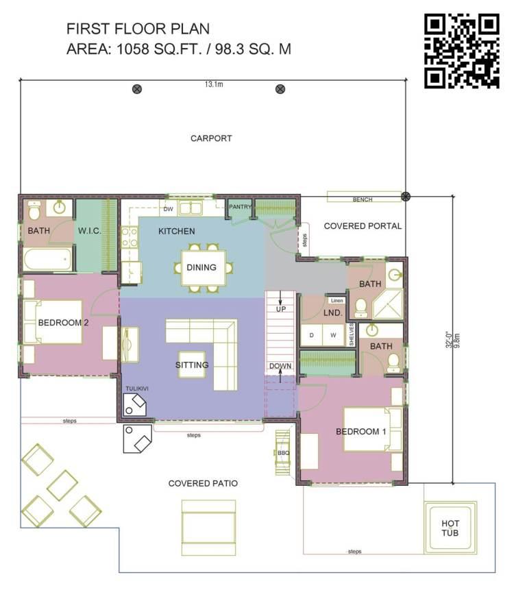White House Floor Plan Bottom